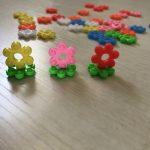 花はじきとチェーンリングのつなぎ方の変更と様々な遊び方